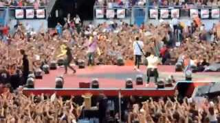 One Direction - Liam & Harry's speech + Why Don't We Go There + Rock Me in Paris (21/06/14) HD