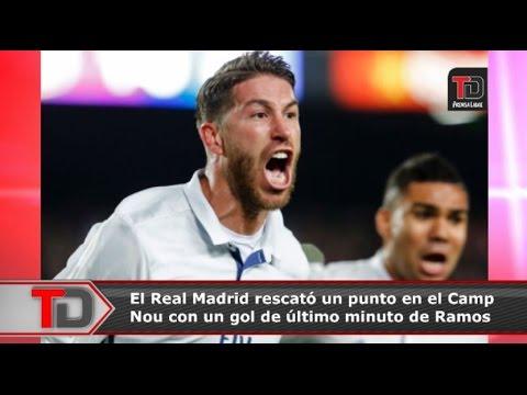 Real Madrid rescata un empate valioso en el Camp Nou