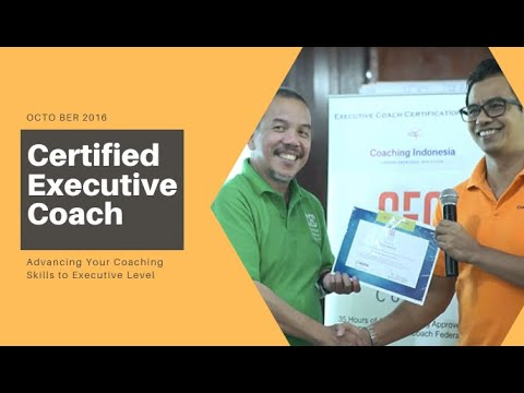 Executive Coach Certification Program with Coaching Indonesia ...