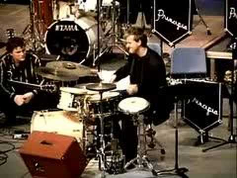 rich stitzel drum solo, st.louis, 2004