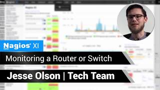 Monitoring a Switch or Router