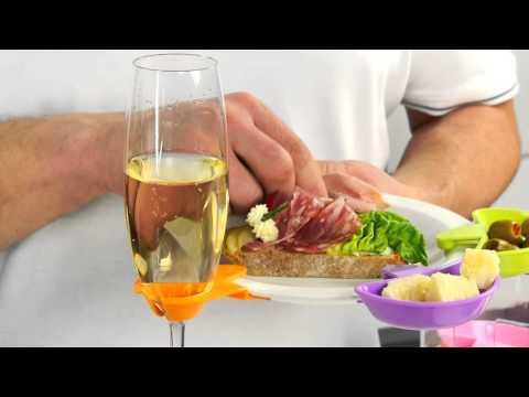Video Tescoma MYDRINK úchýtka na víno, 6 ks 1