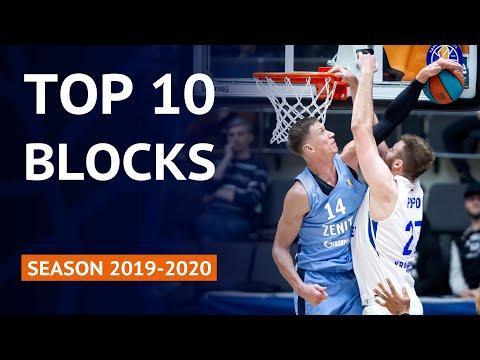 Top 10 Blocks   VTB United League Season 2019-20
