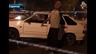 Пьяный майор ГИБДД дважды попал в аварию!