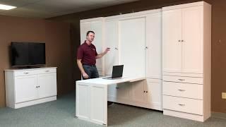 Christy Murphy bed and Hidden Desk