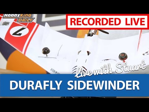 -durafly-sidewinder-fpv-race-wing--live-chat-with-stuart--hobbyking