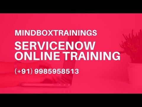 ServiceNow Online Training   ServiceNow Integration Online ...