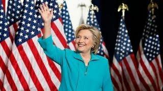 Clinton blasts Republican Party, Trump in campaign speech for Cuomo