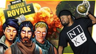 THE MOST DYSFUNCTIONAL SQUAD EVER! WE LOWKEY HATE EACH OTHER! - FortNite Battle Royale Ep.88