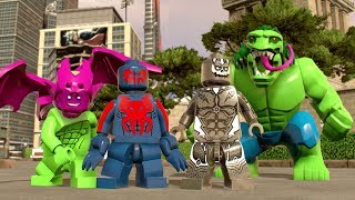 LEGO Marvel Super Heroes 2   All 2099 Characters Showcased (Free Roam)