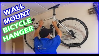 Installing a Levitate Bike Rack - Wall Mount Bicycle Hanger