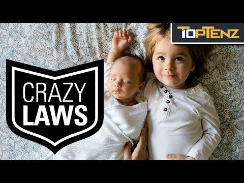 REAL LAWS that make NO SENSE!