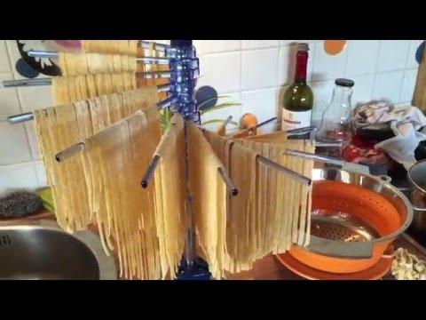 Zubehör Tipp:  Herstellung von selbstgemachten Nudeln / Pasta