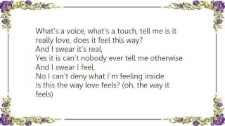 Chrisette Michele - Is This the Way Love Feels Lyrics