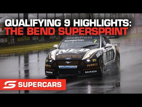 SUPERCARS 2021 OTR スーパースプリント 予選のハイライト動画