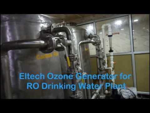 Drinking Water Plant Ozone Generator