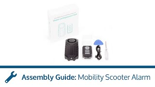 Mobility Scooter Alarm Assembly Guide