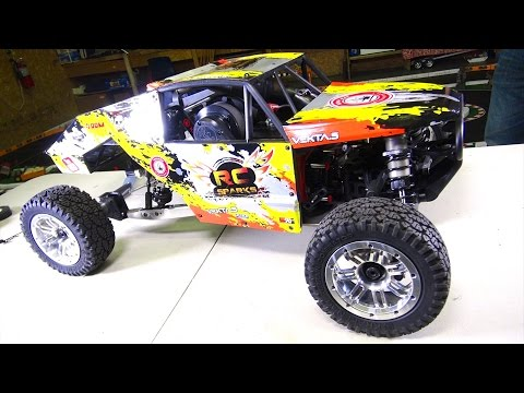 KRAKEN VEKTA 5 gets a HEART!  32cc GAS POWERED RACE MACHiNE | RC ADVENTURES