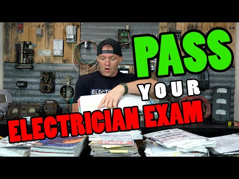 How To Study For and PASS Your Electrician Exam (FIRST TIME ...