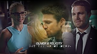Oliver & Felicity- got you on my mind. (6x01)