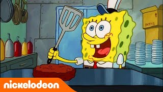Губка Боб Квадратные Штаны | Виртуоз Крабсбургера | Nickelodeon Россия