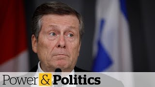 The City of Toronto imposed 12 weeks of strict new measures, making it mandatory for people and businesses to follow the physical distancing rules outlined by public health officials. Read more:www.cbc.ca/1.5517307    »»» Subscribe to CBC News to watch more videos: http://bit.ly/1RreYWS  Connect with CBC News Online:  For breaking news, video, audio and in-depth coverage: http://bit.ly/1Z0m6iX Find CBC News on Facebook: http://bit.ly/1WjG36m Follow CBC News on Twitter: http://bit.ly/1sA5P9H For breaking news on Twitter: http://bit.ly/1WjDyks Follow CBC News on Instagram: http://bit.ly/1Z0iE7O  Download the CBC News app for iOS: http://apple.co/25mpsUz Download the CBC News app for Android: http://bit.ly/1XxuozZ  »»»»»»»»»»»»»»»»»» For more than 75 years, CBC News has been the source Canadians turn to, to keep them informed about their communities, their country and their world. Through regional and national programming on multiple platforms, including CBC Television, CBC News Network, CBC Radio, CBCNews.ca, mobile and on-demand, CBC News and its internationally recognized team of award-winning journalists deliver the breaking stories, the issues, the analyses and the personalities that matter to Canadians.