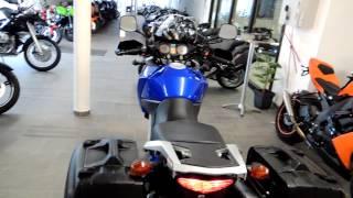 preview picture of video 'Suzuki DL 650 mit Koffersatz'