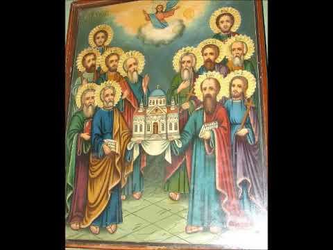 Кондак Собору Двенадцати Апостолов Христовых