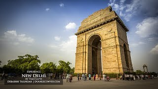 preview picture of video 'New Delhi in time-lapse'