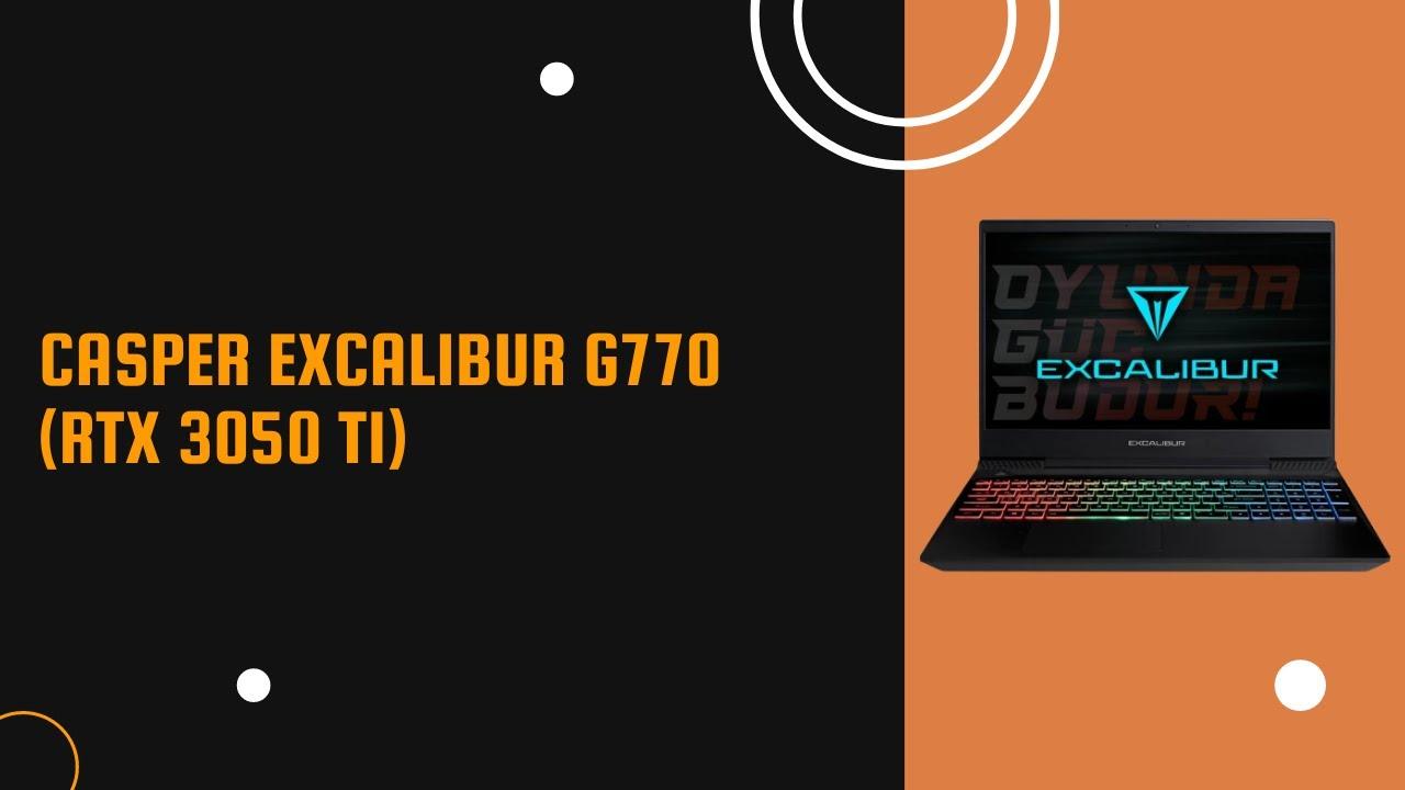 Excalibur G770'in oyunlardaki FPS skoru nasıl? Gelin birlikte GTA 5, Red Dead Redemption 2 ve Cyberpunk 2077'de yapılan testlerine yakından bakalım. Excalibur Oyunda Güç Budur!