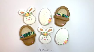 How To Make Decorated Sugar Cookies For Easter!