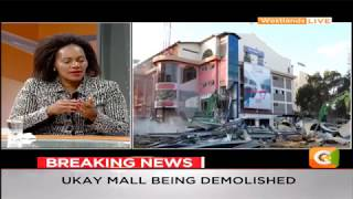 Ongoing demolitions: Rosa Buyu- is setting our country back! #DayBreak