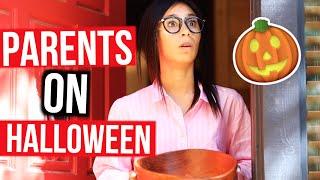 THINGS PARENTS DO ON HALLOWEEN | MyLifeAsEva