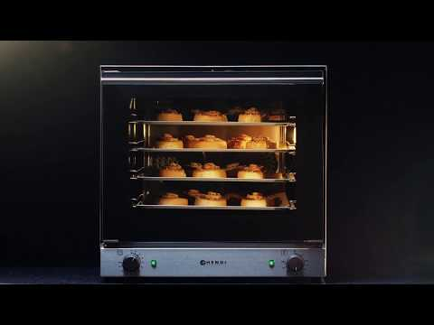 227060 (227374) 62 Ltr Convection Oven H90 (Supplied with 4 Free Trays) Product Video