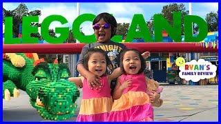 Legoland Hotel Tour NEW Castle Room Amusement ParK for Kids!!!