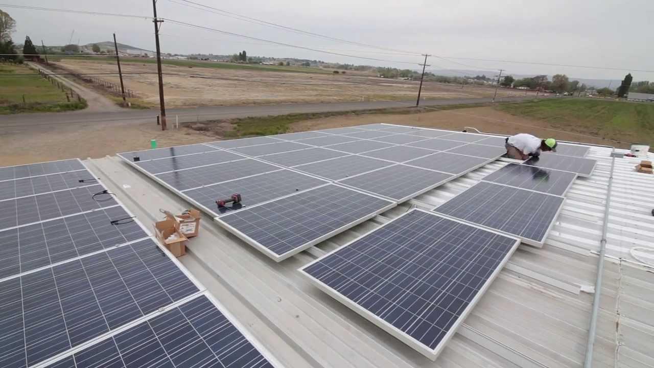 Solora Solar Installation, 25kW