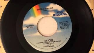 Shaddup You Face , Joe Dolce , 1981 Vinyl 45RPM