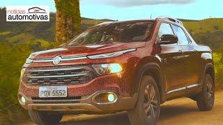 Nova Fiat Toro - Clipe oficial - NoticiasAutomotivas.com.br