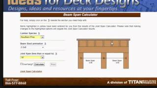 Beam Calculator Tutorial