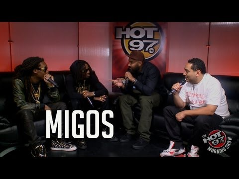 The old man Ebro struggles to understand Migos... Question their lyrics & materialism