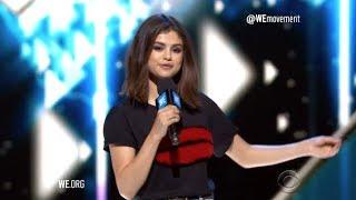 Selena Gomez Hosts WE Day