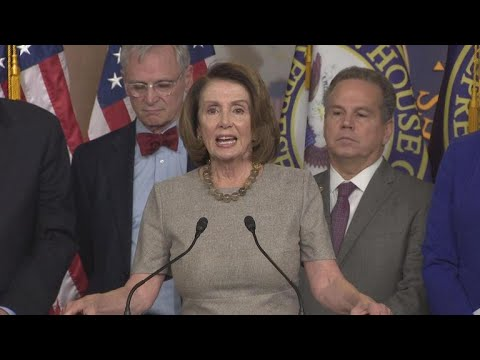 Pelosi on her 8-hour long House speech, budget deal vote