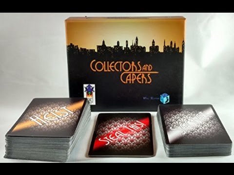 Collectors and Capers - Unfiltered Gamer - Card Game Review