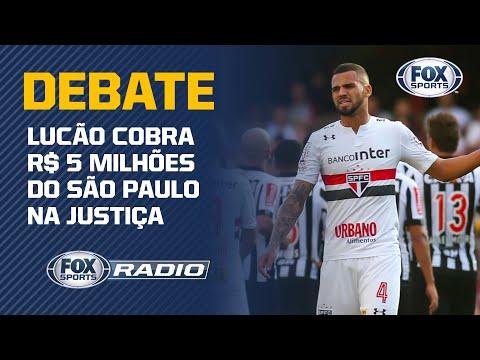ZAGUEIRO LUCÃO PROCESSA O SÃO PAULO E INCLUI COBRANÇA POR DANOS MORAIS!