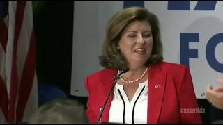 Karen Handel WINS Georgia Special Election,  VICTORY SPEECH she thanks President Trump
