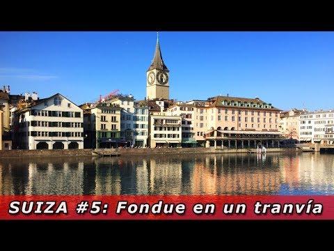 Suiza #5: Fondue de queso recorriendo Zurich en un tranvía antiguo