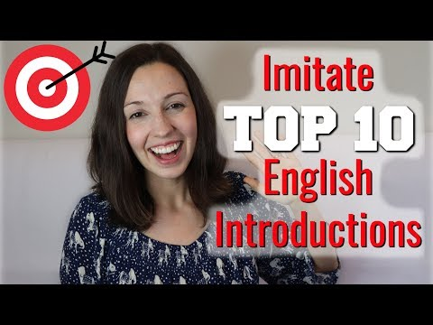How to Pronounce TOP 10 English Introductions