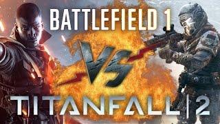 Рэп Баттл - Titanfall 2 vs. Battlefield 1