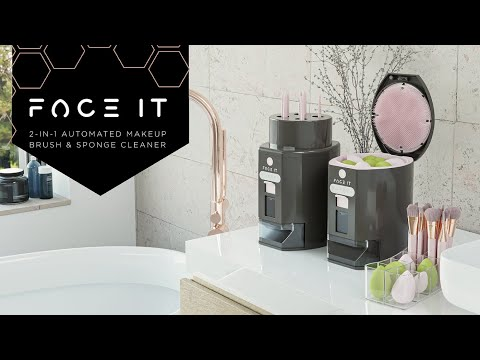 FACE IT – Automated Makeup Brush & Sponge Cleaner-GadgetAny