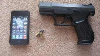 Homemade Bullet Proof IPod Case
